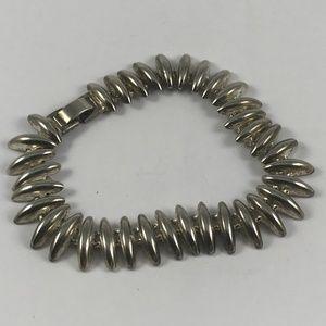 Vintage Silver Tone Bracelet, Vintage Bracelet
